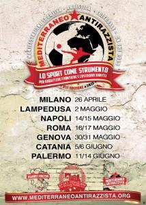 Mediterraneo Antirazzista 2015- Programma